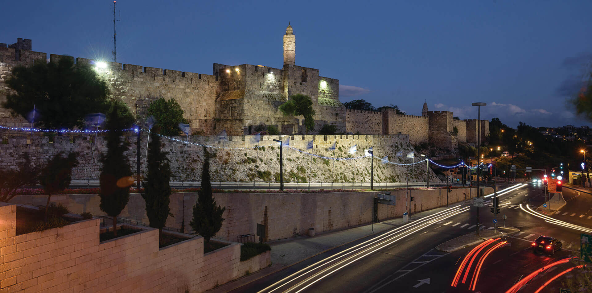 Old City Walls in Jerusalem